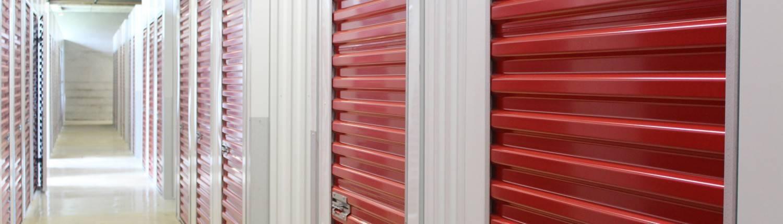 Sikre, tørre, oppvarmede lokaler for oppbevaring av dine ting.